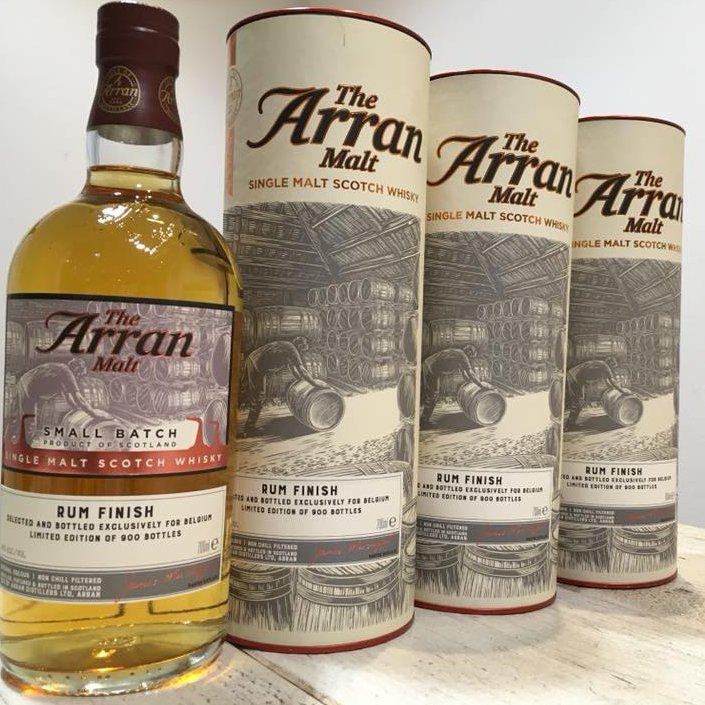 arran rum cask plantation belgie editie 10 jaar