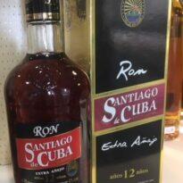 Cubaanse rum Santiago de Cuba 12 jaar