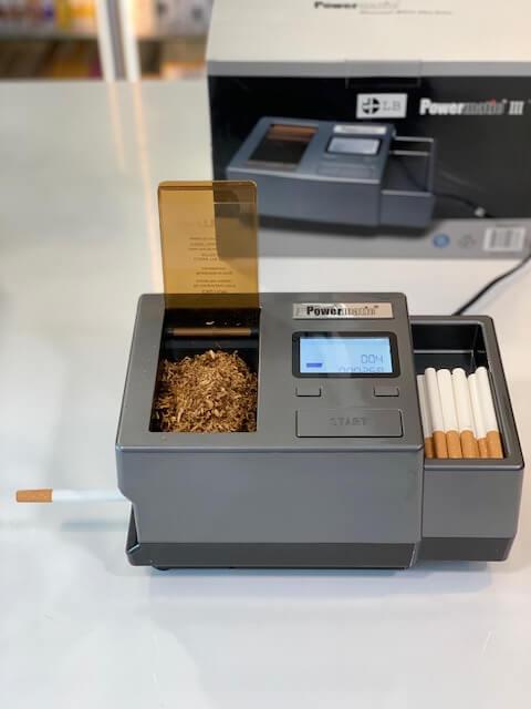 beste elektrische sigarettenmaker Zorr Powermatic 3 plus