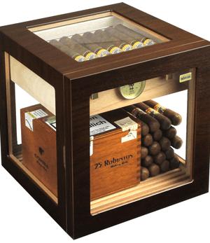 adorini cube deluxe walnoot humidor