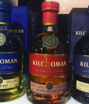 Kilchoman Red Wine Cask whisky
