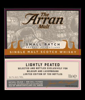 arran nectar peated whisky