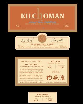 kilchoman str belgie 2019